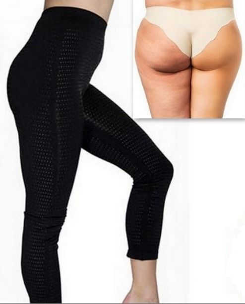 a50fe5372da New style anti cellulite leggings. with tourmaline dots. Super firm slimming  body suit control gives you an instant slimming effect  Molds and shapes  your ...