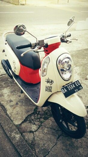 Ride to chance #scoopy #honda