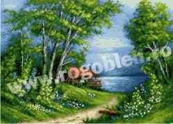 8.76 Lacul albastru Culori: 30 Dimensiune: 15 x 21 cm Pret 61.01