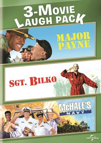 3-Movie Laugh Pack: Major Payne/Sgt. Bilko/McHale's Navy [2 Discs] [DVD]