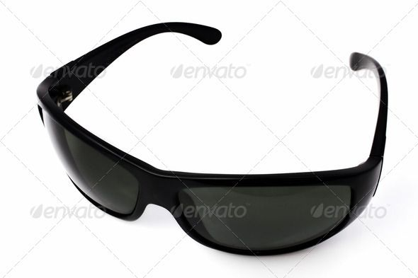 Isolated Sun Glasses