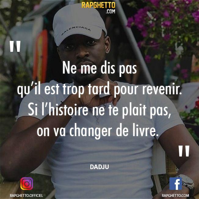 Punchlines Et Citations De Dadju Citations De Rap Punchline Rap Citation Rap Francais