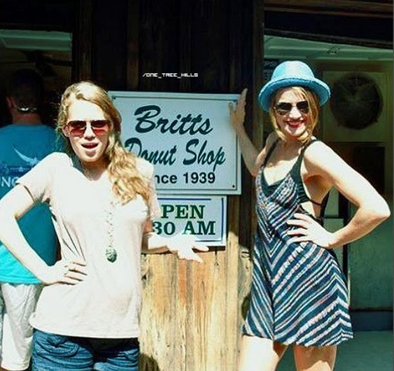 Bethany Joy Lenz and S...