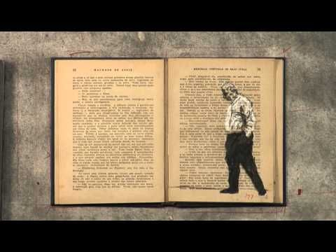 William kentridge - stop nation idea - stop motion of bird (symbol of freedom) flying off the collage, off the page