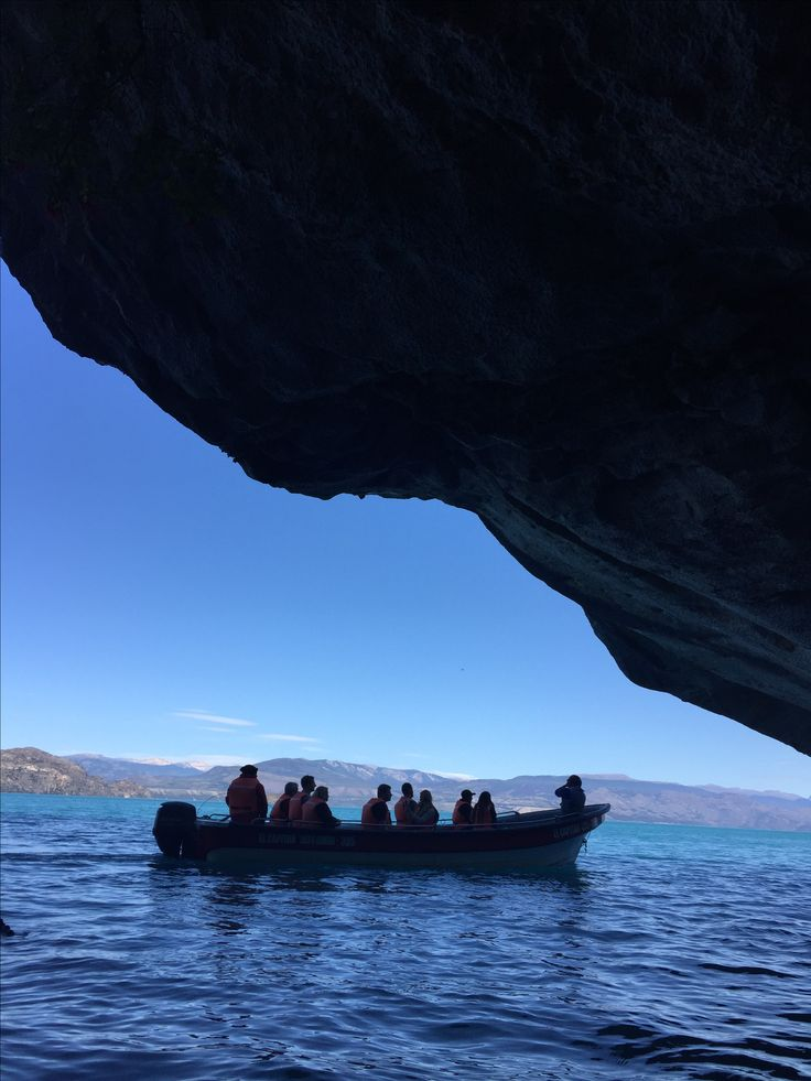 Interior Cavernas de Marmol - XI Region de Aysen