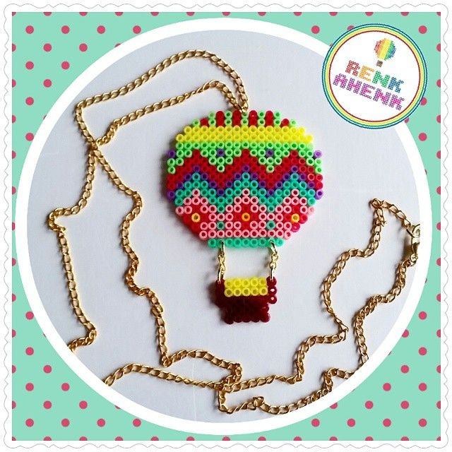 Air Balloon perler beads by renk__ahenk
