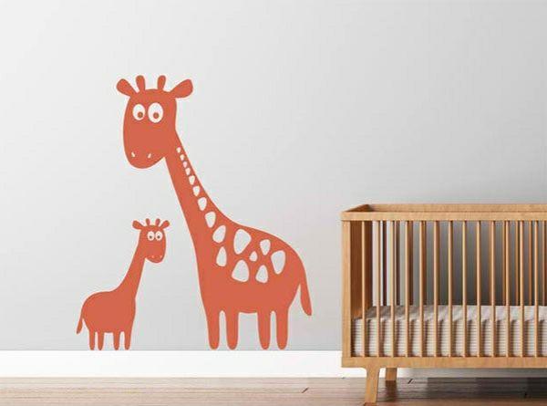 babyzimmer wandgestaltung 15 wanddeko ideen mit tieren kinderzimmer pinterest babyzimmer. Black Bedroom Furniture Sets. Home Design Ideas