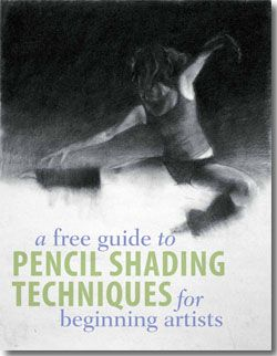 A Free Guide to Pencil Shading Techniques for Beginning Artists, from ArtistsNetwork.com. #drawing #art