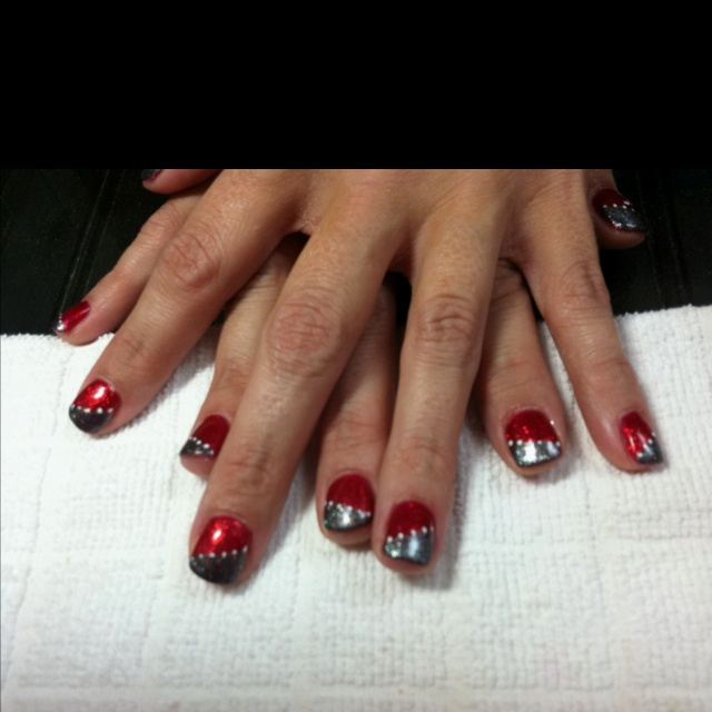 roll tide nails for amy and stephanie girly stuff