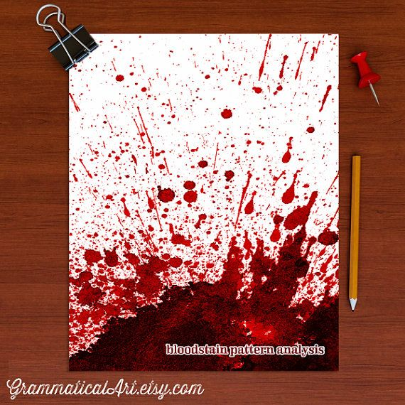 how to become a forensic blood analysis