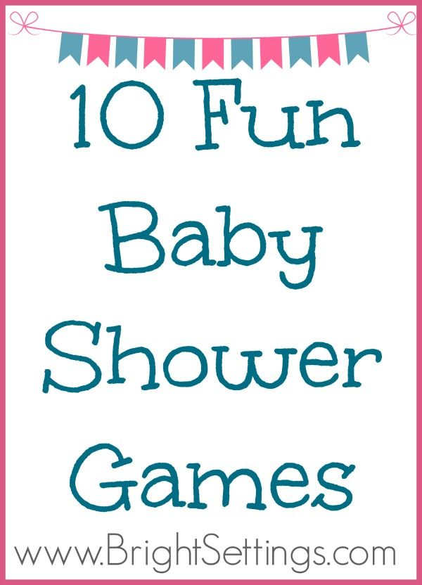 10 Fun Baby Shower Games - If you're going to be planning a baby shower any time soon, this blog post is for you. #babyshower #games #babyshowerideas