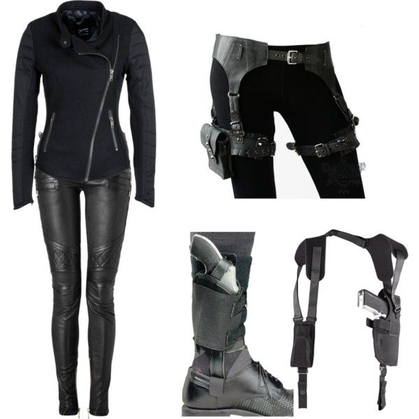 The World S Best Photos Of Guns And Spy: Spy Outfit 3 By Thumperrabbit On Polyvore Featuring Denham
