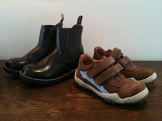 Tøffe sko til tøffe små gutter...