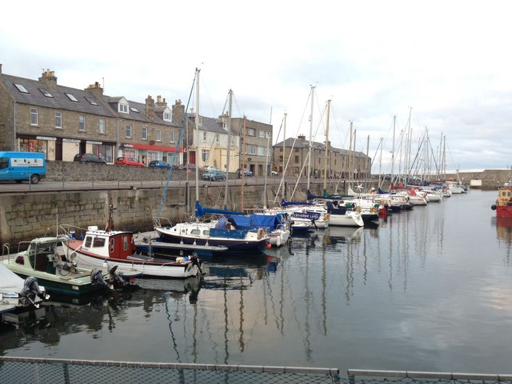 Lossiemouth Harbour - tranquility.