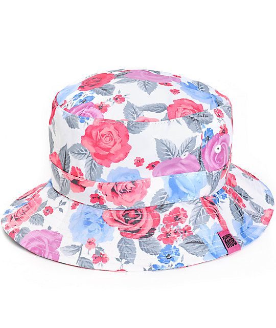Married to the Mob // Pretty Bitch Floral Bucket Hat
