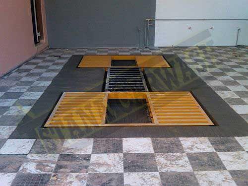 proses instalasi hidrolik cuci mobil thunder H-09