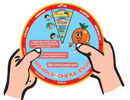 Con la Discolonchera Escolar tu puedes ayudar a preparar una rica y nutritiva lonchera.  Fuente:  Ministerio de Salud del Perú         La di...