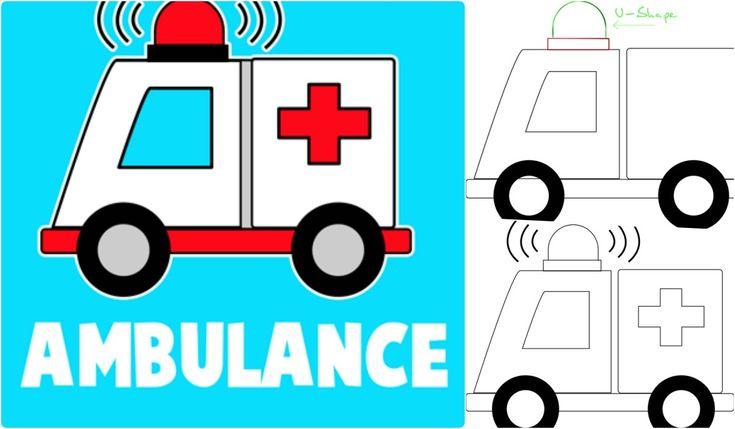 Ambulans resmi nasıl çizilir? diye merak eden çocuklara kolay anlatımlı ambulans çizimi paylaştık. Sizlerde artık kolaylıkla ambulans çizebilirsiniz.