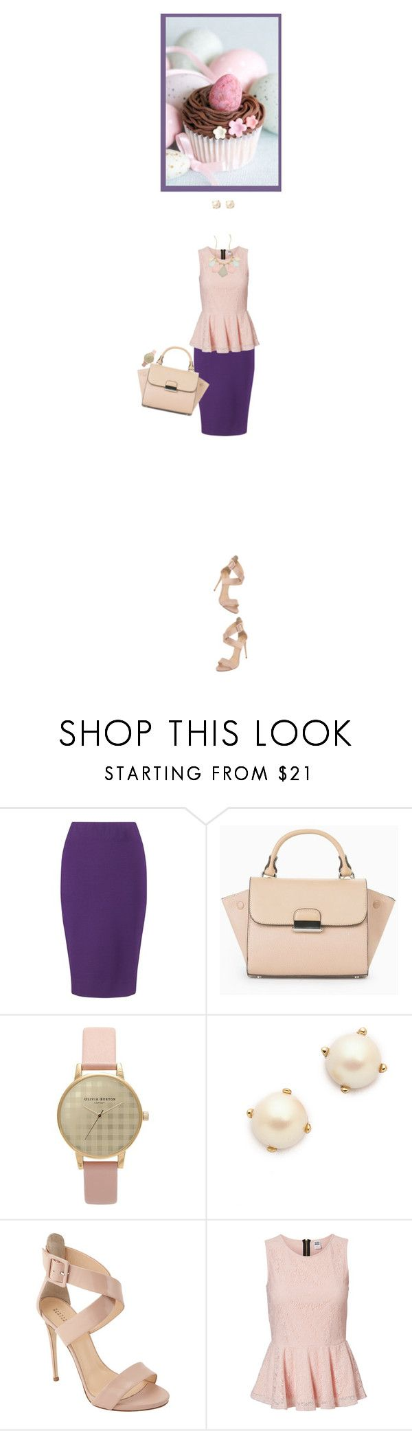 """Easter Surprise!"" by fashionbrownies ❤ liked on Polyvore featuring Winser London, MANGO, Olivia Burton, Kate Spade, Barneys New York, Vero Moda, Shlomit Ofir, Easter, SpringStyle and polyvoreeditorial"