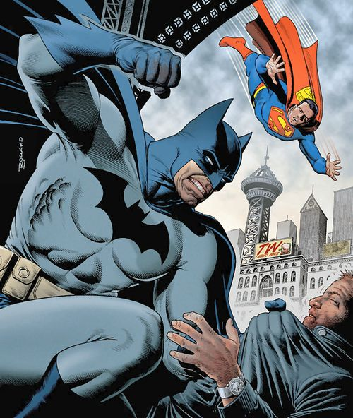 BATMAN: GOTHAM KNIGHTS #27 art by Brian Bolland