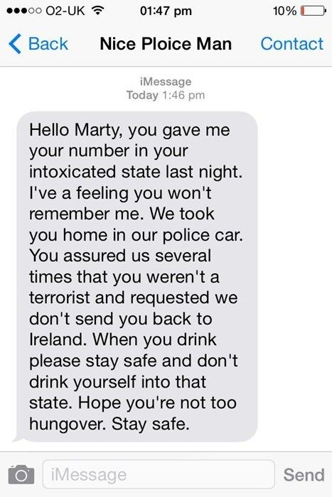 The person who made a friend, and got very lucky. | 19 Texts That Prove Drunk People Are The Absolute Worst