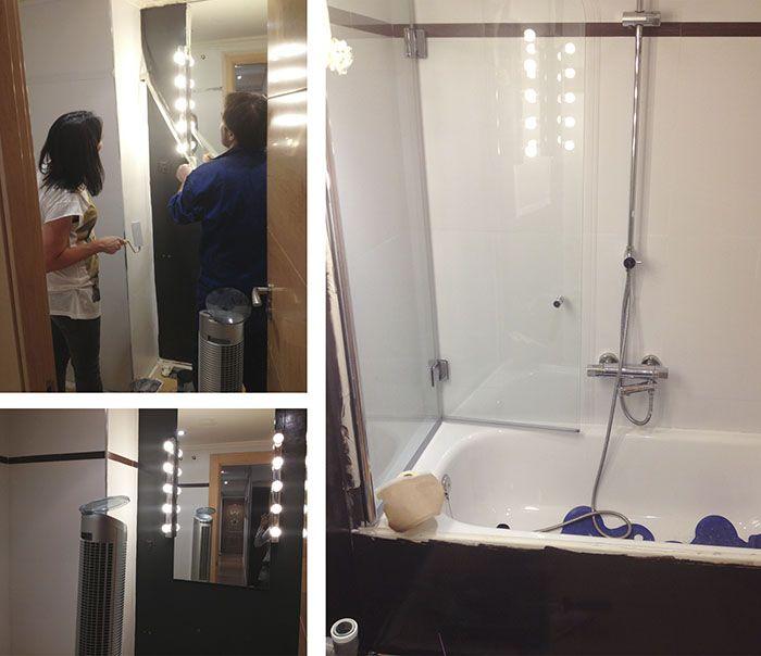 Reforma tu baño, sin obras, reformar un baño pintando azulejos es la solución perfecta! económica, y el resultado alucinante! podéis verlo aquí.