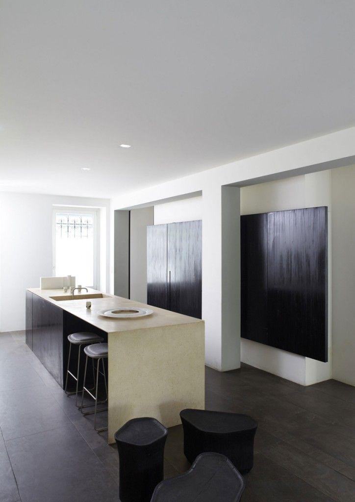 Kitchen By Joseph Dirand   Studio Valérie Maltaverne   Rue La Condamine,  Paris