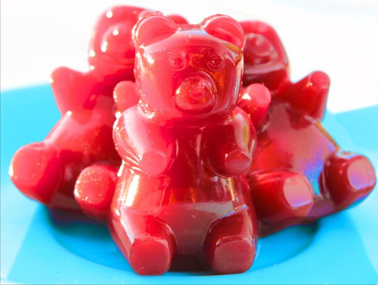 how to make gummy bears with jello without gelatin