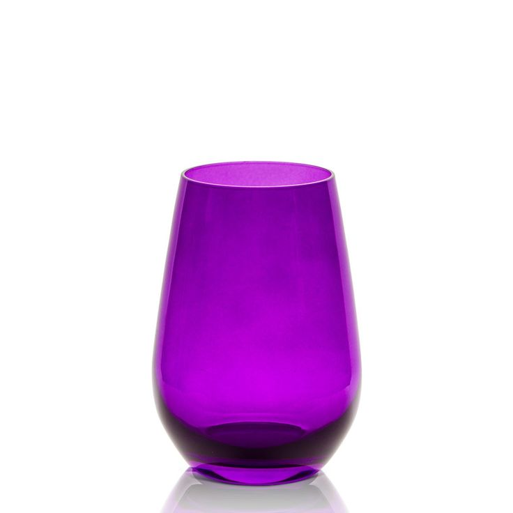 Sz Vina Spots Universal Purple Set Of 6 (large) - These purple universal Vina Spots Glasses will instantly add charm to your dinner table, and they'll prevent messes too! Stemless glasses are known to be more durable and long-lasting than their stemmed counterparts, and these are no exception. #INVHome #LuxuryHomeDecor #InteriorDesign #RoomDecor #Decorations #Decor #INVHomeLinen #Tableware #Spa #Gifts #Furniture #LuxuryHomes #HomeDecor #Glassware