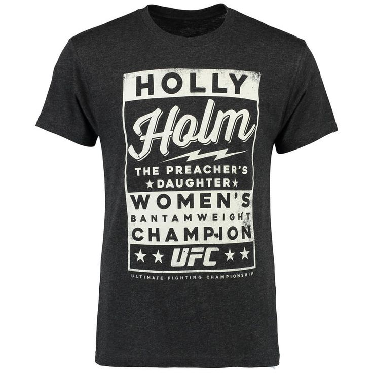Holly Holm UFC Poster Tee - Black