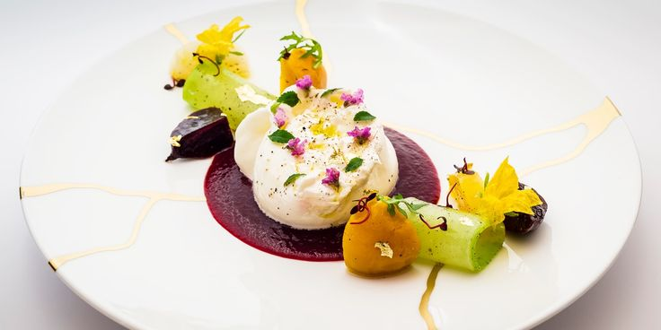 A fresh spring salad recipe from Xavier Boyer with creamy Italian burrata cheese, earthy beetroot and peppery radish.