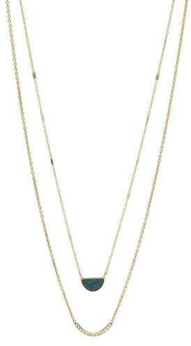 d4c1e5876085e Double Half-Moon Jade Necklace in 2019   Jewelry   Jade necklace ...