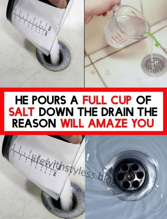 He Pours A Full Fledged Cup Of Salt Down The Drain In 2020 With Images Full Cup