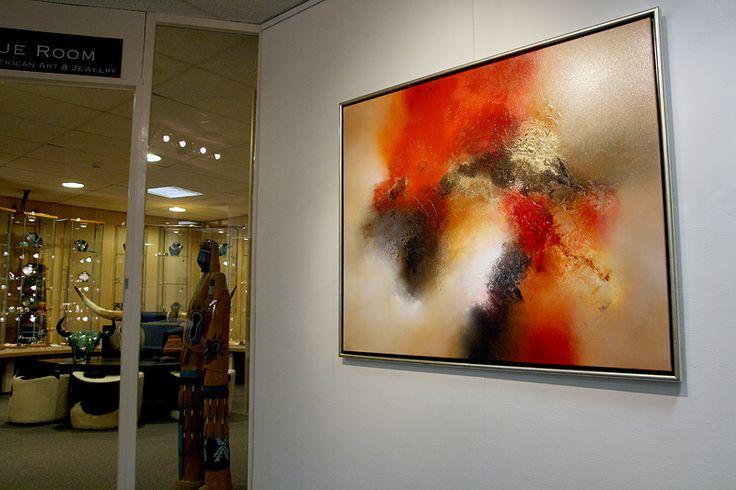 Eelco Maan I lyrical abstract paintings I  Galerie Miya, Hellevoetsluis  I  2010