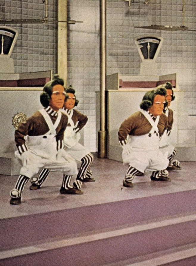 Willy Wonka and the Chocolate Factory (1971) Note: OOMPA LOOMPA DIDDLY DOO, I've got another message for you...