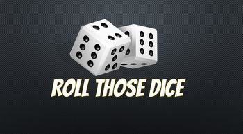 FINALLY! A PowerPoint program that will throw a random dice number. Each roll of the dice generates a completely random number. This is a macro-enabled presentation, which lets you roll random numbers. There is no repeat sequence of numbers. No more students complaining that the game is rigged or