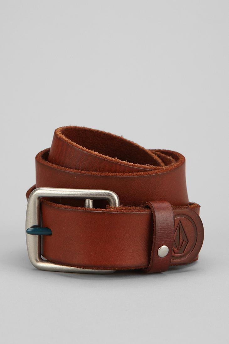 Volcom Classic Leather Belt #urbanoutfitters