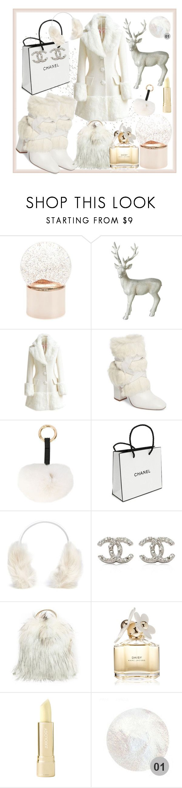 """""""winter boots"""" by jannatqtr ❤ liked on Polyvore featuring Nordstrom, Parlane, WithChic, Alexandre Birman, Yves Salomon, Chanel, Karl Donoghue, Marc Jacobs and Axiology"""