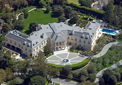 Spelling Manor 56,500 sq ft  $150 million