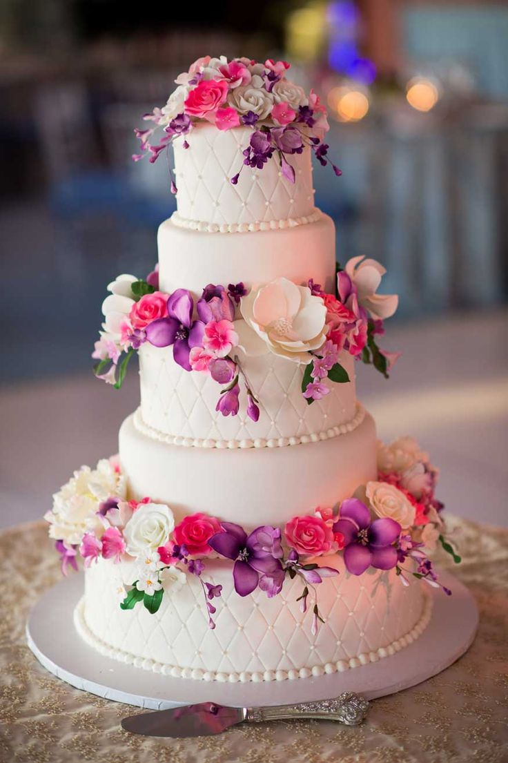 812 best Wedding Cake Style images on Pinterest Beautiful cakes