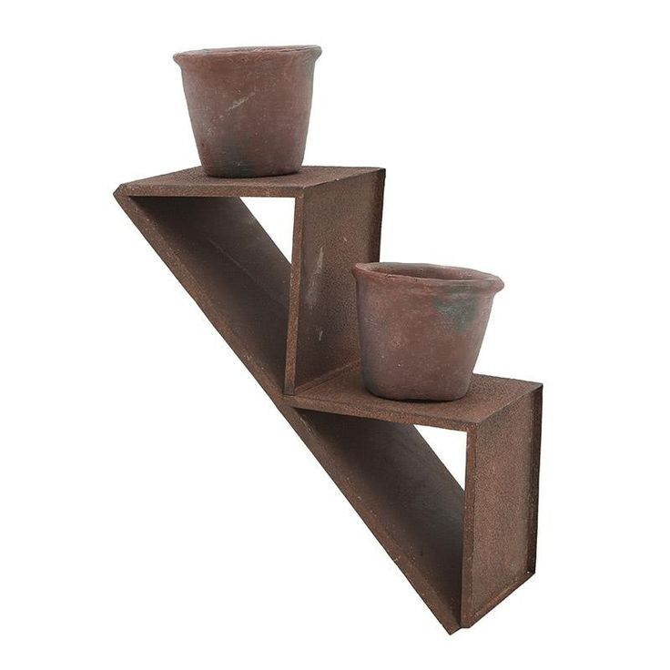Metal Flower Pot - Pots - DECORATIONS - inart
