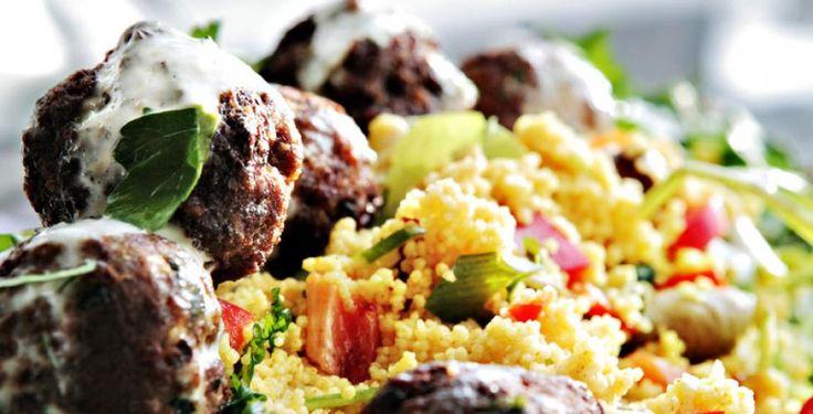 Kjøttboller med couscous