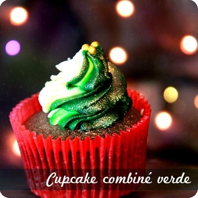 Combiné verde - Chez Mua cupcakes