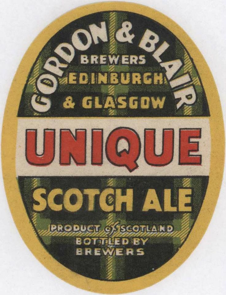 Gordon & Blair of Edinburgh - Craigwell Brewery was one of the sites at which they brewed beer.  Now converted to flats, townhouses and Craigwell Cottage! Found this image on the https://www.facebook.com/ScottishBrewingArchive page.  Hop over and give them a 'like'.