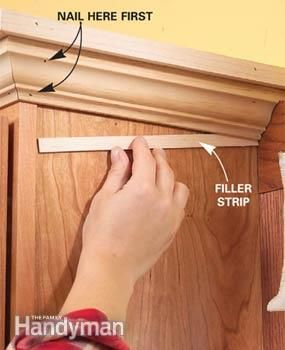 The Family Handyman Empty Spaces And Cabinets On Pinterest