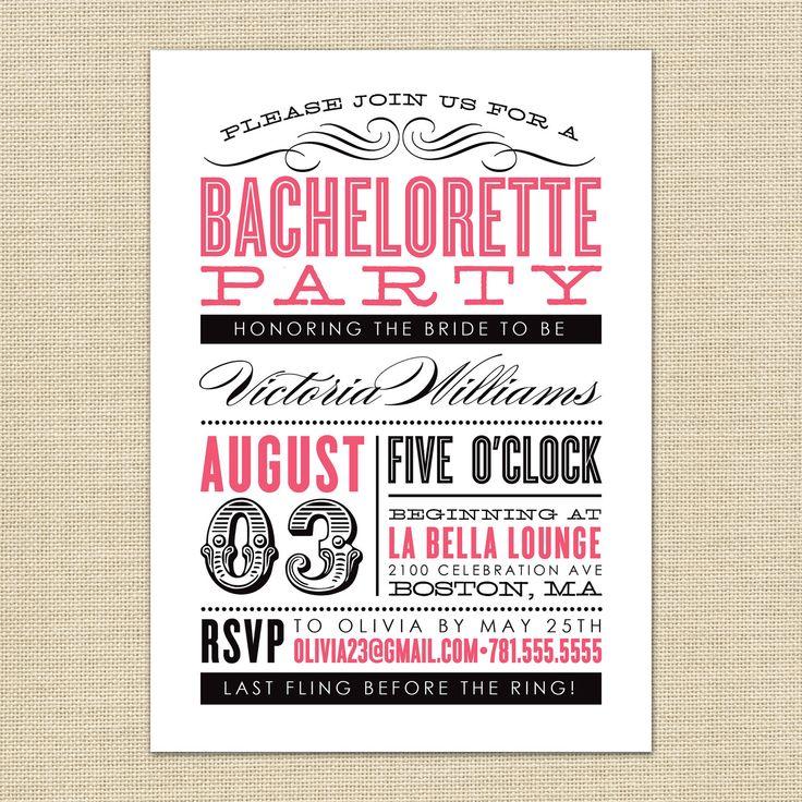 43 best Bachelorette Party images on Pinterest   Parties, Dreams ...