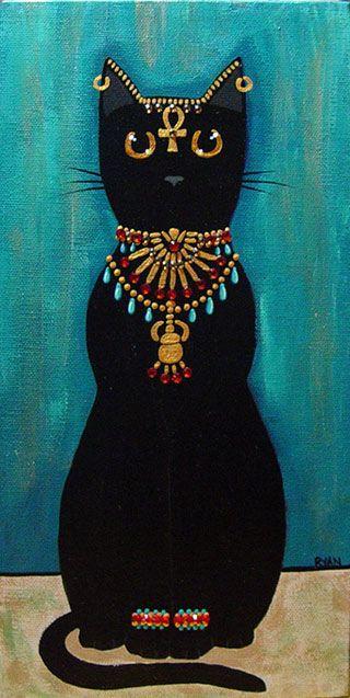 Kilkenny Cat Art | Bastet by kilkennycat