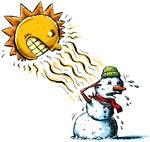 Circusdirecteur en andere gedichten voor kinderen: Sneeuwpop in de zon. Of regen