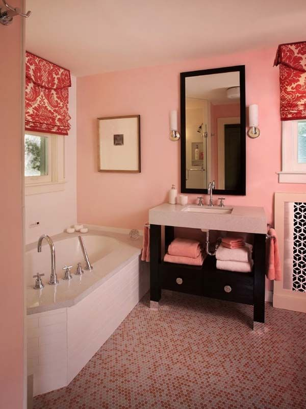 17 best ideas about teenage girl bathrooms on pinterest for Bathroom designs for girls
