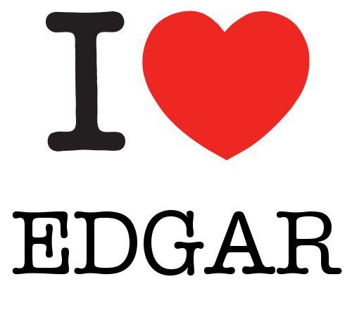 I Heart Edgar #love #heart